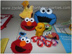 Coolest 1st Birthday Sesame Street Party Decorations