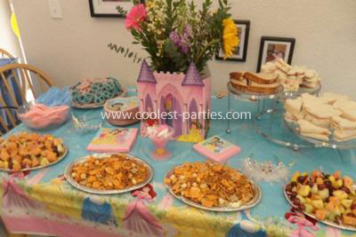 4th Disney Princess Tea birthday party