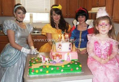 4th Disney Princess Tea birthday party