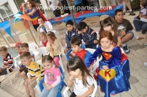 Superhero Birthday Magic Show