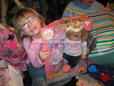 She got a doll that looks like her. =)