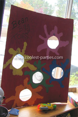 Bean Bag Toss Carnival Party Game