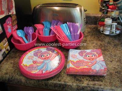 Abby Cadabby Birthday Party Plates, Napkins, & Silverware