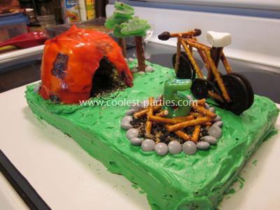 Camp Site Cake