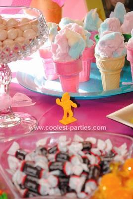 Girly Birthday Cakes on Coolest Candy Land Party For Five Year Old Girl