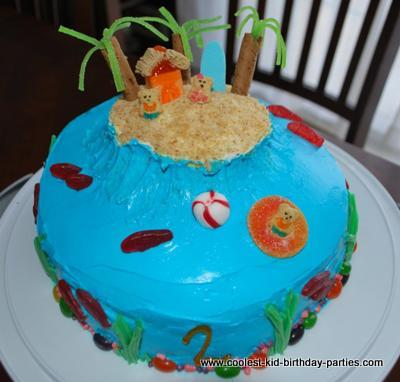 Hawaiian 2nd Birthday Party