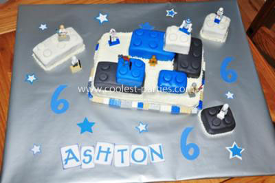 Lego Star Wars 6th Birthday Party Cake