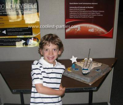 Space Birthday Party at the Planetarium