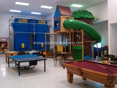 Play area at the YMCA