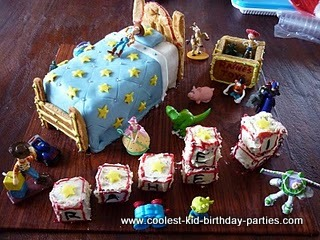 Toy Story Party for 3rd Birthday