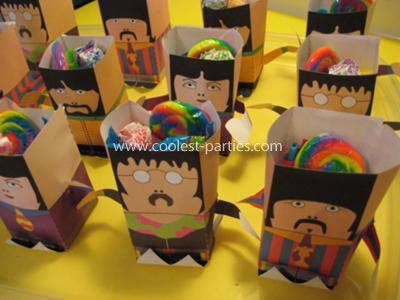 Yellow Submarine Birthday Party Planning Ideas