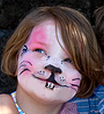 Easter Bunny Face Painting Idea