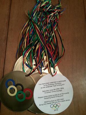 Kerri's Olympic Invitations