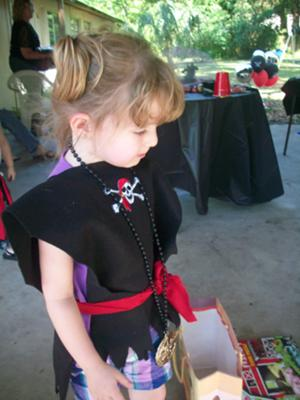 Pirate Birthday Party Costume Idea
