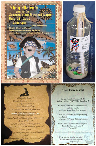 Coolest Pirate Birthday Party Ideas Coolest Kid Birthday Parties