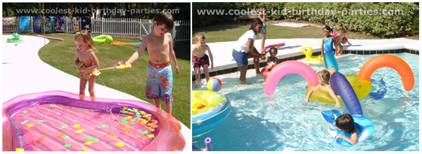 Pool Games and Activities