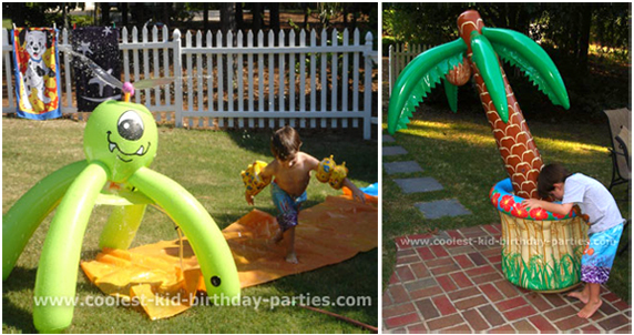 Get Out The Sprinklers With A Variety Of Heads And Hoses Kiddy Pool Any Other Fun Water Toys You Have Around House