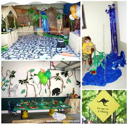 Safari Party  sc 1 st  Coolest Kid Birthday Parties : jungle theme party decoration ideas - www.pureclipart.com