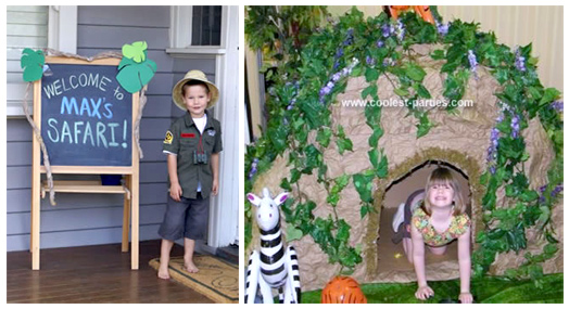 Coolest Safari Theme Party Ideas