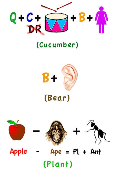 Sample Rebus Puzzles